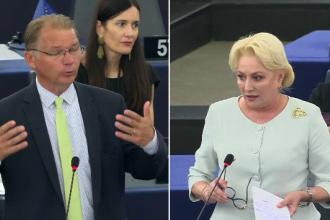 """Reacția lui Dăncilă, criticată în PE: """"Guvern complet obsedat de subordonarea justiţiei"""""""