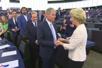 Cioloş a felicitat-o pe Ursula von der Leyen, prima femeie șef al Comisiei Europene