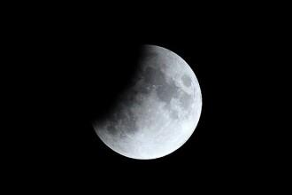 Eclipsă parţială de Lună, la 50 de ani de la misiunea Apollo 11. FOTO și VIDEO
