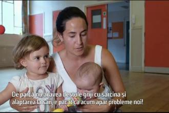 Raport alarmant: laptele matern are o concentraţie mare de substanţe chimice