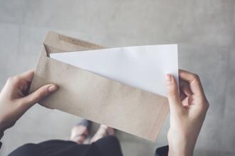 O carte poştală a ajuns la destinaţie după 26 de ani de la expediere
