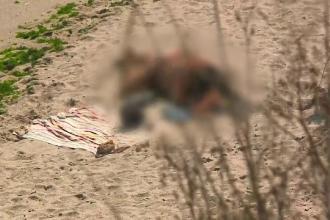 """Imagini de pe singurele plaje pentru nudişti din țară. Turistă: """"Am rămas cu gura căscată"""""""
