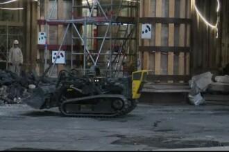 """Pași mici pentru restaurarea catedralei Notre-Dame. Doar roboții """"lucrează"""" momentan"""