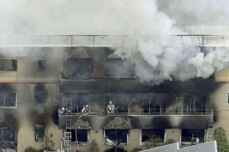 Masacru la un studio de animație din Japonia. 23 morți și zeci de dispăruți