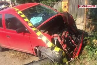 Accident grav. Un șofer a adormit la volan și a lovit în plin 2 mașini