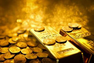 BNR: Prețul aurului, la cel mai ridicat nivel din ultimii șapte ani