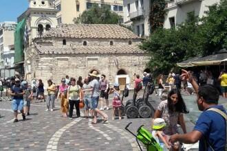 Cutremurul din Grecia a creat panică printre turiști. IMAGINI din timpul seismului