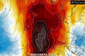 Un nou val de caniculă lovește Europa. Meteorologii anunță o anomalie meteo