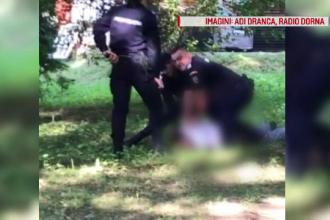 Un bărbat care fi încercat să atingă o fetiță, imobilizat cu spray lacrimogen de jandarmi