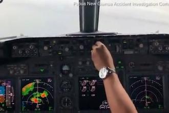 Imagini terifiante din cabina unui Boeing 737 prăbușit în Pacific. Ce a strigat co-pilotul