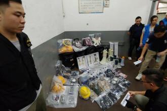 Arsenalul descoperit într-un laborator din Hong Kong, înaintea unui protest masiv