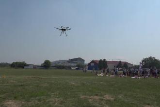 Festival dedicat dronelor la Târgu Mureș. Cel mai tânăr participant are 11 ani