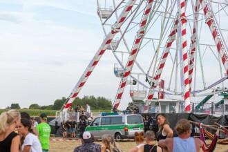 Tragedie la un festival. Un bărbat a murit după ce a căzut dintr-o roată