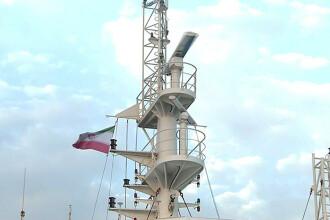 Primele imagini VIDEO cu petrolierul capturat de Iran. Pe navă flutură steagul iranian