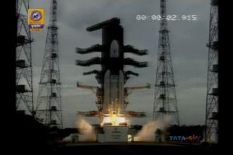 India a lansat a doua sa misiune spaţială pe Lună - Chandrayaan 2. VIDEO