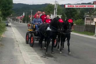 Salvamontiștii din Borșa, cu căruța pentru a ajunge la victime. Cum s-a ajuns aici