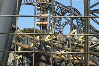 Turiști blocați timp de 20 de minute într-un carusel, la 30 de metri înălțime