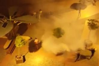 Cum a ajuns un grup de tineri din Timişoara într-un nor de insecticid. Explicaţia oficială