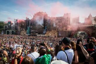 Razie la un Tomorrowland, festival cu 400.000 de participanți. O persoană a murit
