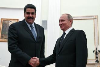 SUA vrea să sancționeze Rusia pentru ajutorul dat președintelui Venezuelei
