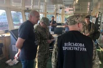 Incident în Marea Neagră. Un petrolier rusesc, reținut de autoritățile ucrainene