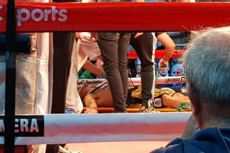 Momentul tulburător în care Hugo Santillan, al doilea boxer mort, s-a prăbușit în ring