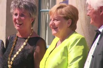 Apariție surprinzătoare a Angelei Merkel la un eveniment, după crizele de tremurat