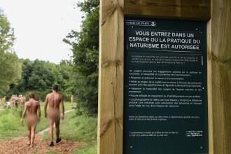 Ce pățesc femeile care fac plajă nud într-un parc cunoscut din Paris