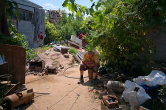 Imagini din casa suspectului din Caracal, unde au fost găsite rămășițe umane