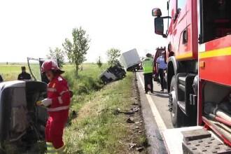 Tragedie cu 4 morți, lângă București. Trei dintre victime sunt cetățeni străini