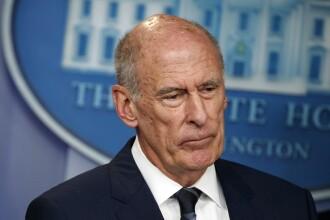 Şeful serviciilor de informaţii din SUA pleacă, după mai multe conflicte cu Trump