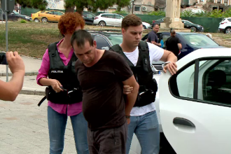 Recidivist imobilizat de 2 trecători după ce a încercat să agreseze o femeie