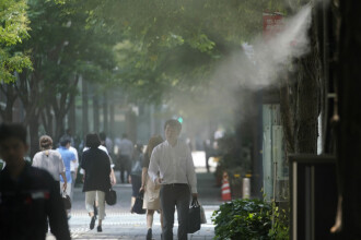 Japonia, afectată de caniculă. 11 persoane au murit, peste 5.600 au ajuns la spital