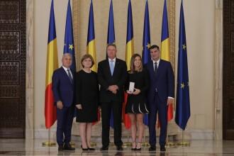 """Simona Halep a venit însoțită de iubit, la ceremonia de la Cotroceni: """"Sunt emoționată"""". FOTO"""