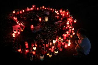 """""""Voi le-aţi ucis"""". Protest în Capitală după publicarea stenogramelor de la 112 cu Alexandra"""