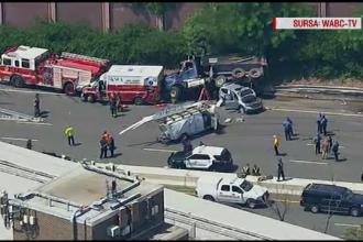Mai mulți răniți, după ce o mașină de gunoi a lovit tot ce i-a ieșit în cale