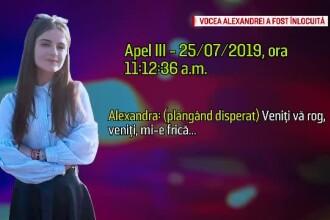 Surse: Operatoarea 112 care a preluat apelul Alexandrei nu a fost sancționată