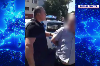 Anchetă în Bacău. Un polițist care nu purta mască a încătușat un șofer de autobuz fără mască