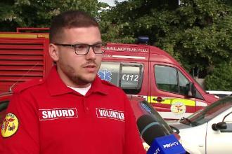 """Salvatorii SMURD, ajutați de sute de voluntari. """"În fiecare zi este o provocare pentru noi"""""""