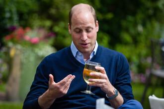 """Prințul William a băut bere la pub, după relaxarea restricțiilor: """"Nu știu unde să plătesc"""""""