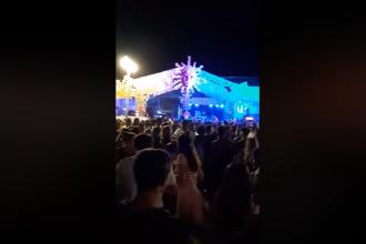 Petreceri în Vama Veche fără frică de Covid-19. Poliția a găsit cocaină și ecstasy