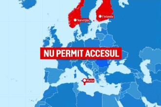 Îngrijorare peste granițe. Ce țări au impus restricții de călătorie pentru români