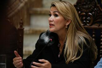 Preşedinta Boliviei, Jeanine Anez, a fost testată pozitiv pentru coronavirus