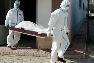 Peste 1.000 de morți de coronavirus în ultimele 24 de ore. S-a stabilit un nou record de cazuri de infectare
