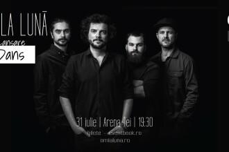 """Formația om la lună lansează EP-ul """"Dans"""", compus în pandemie, într-un concert în București"""