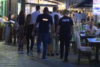 """Controale în zone cu terase din București. Ce părere au clienții: """"Cu măști pe față nu se întâmplă nimic"""""""