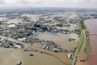 Inundații catastrofale în Japonia. Cel puțin 70 de oameni au murit în urma ploilor torențiale