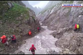 Turist rătăcit în munții Făgăraș. Salvatorii au oprit operațiunea după ce au întâlnit un urs