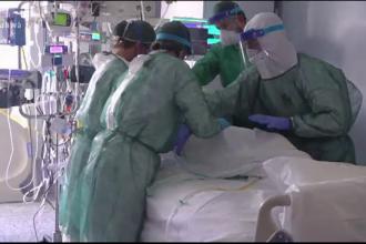 Județul în care toate locurile din secția ATI a Spitalului Județean sunt ocupate