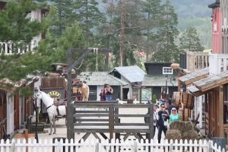 Vestul Sălbatic a ajuns în Europa. Parc de distracții desprins din filmele western, în Serbia
